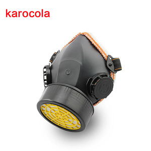 Image 5 - Half Gas Mask Respirator Organic Vapor Chemical Anti Dust Paint Industrial Dual Filters Safety Protection Mask Goggles Wholesale