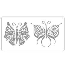 Butterfly Stencil For Cake Ucuza Satın Alın Butterfly Stencil For