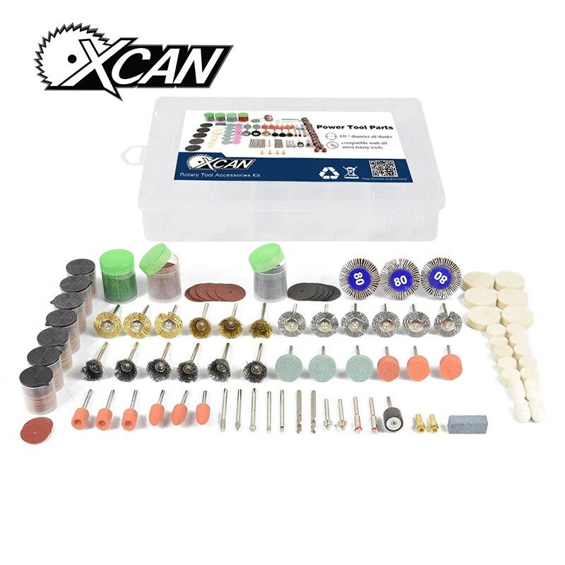 XCAN 351pcs/set  Wood grind polish  Dremel Rotary tools Accessories Kit
