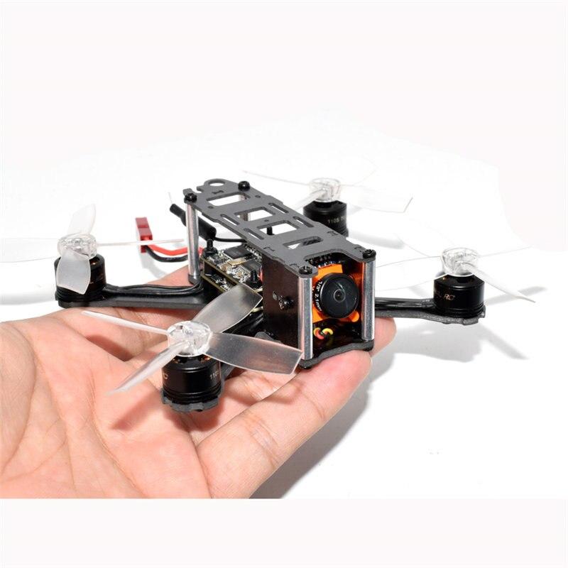 AuroraRC QAV105 105mm 5.8G 48CH F3 Flight Control BLHeli_S 10A Runcam Micro Swift Cam Mini RC Quadcopter Drone PNP FPV drone with camera rc plane qav 250 carbon frame f3 flight controller emax rs2205 2300kv motor fiber mini quadcopter
