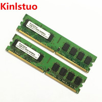 Free Shipping NEW 2GB 1GB X 2 DDR2 800 PC2 6400 DDR800 800MHz 240PIN DIMM Motherboard