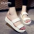 2017 new arrival shoes woman Beach Sandals slipper sandalias femininas Casual Flats Slip On women summer shoes mujer ladies