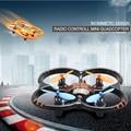 Горячая U207 Вертолет 6 Ось Гироскопа 4CH Управления По Радио мини Quadcopter НЛО Drone Игрушки со СВЕТОДИОДНЫМИ Огнями