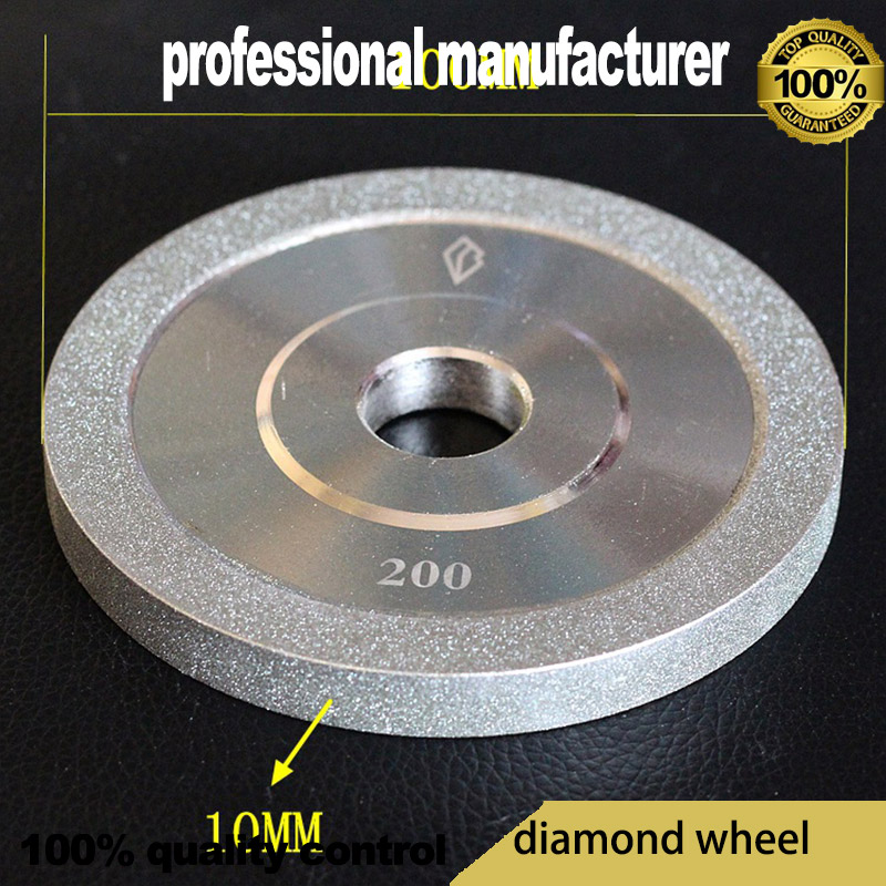 100mm Carbide Diamond Wheel For Polishing Production Of Cylindrical Grinding Grinding With Grinding And Polishing Process