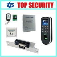 Высокая скорость веб F19 ZK TCP/IP отпечатков пальцев посещаемость времени и контроля доступа DIY дверь контроллер доступа