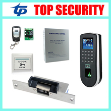 High speed web based ZK F19 TCP/IP biometric fingerprint time attendance and access control DIY door security access controller