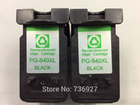 2PK Black High Capacity XL For Canon PG540 Black 540 Ink Cartridges PG 540 For Canon