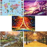 1000 Pieces Wooden Puzzle For Adult Educational Developmental Kids Training Toy Gift Puzzle Intelligence Intellectual Wooden Toy