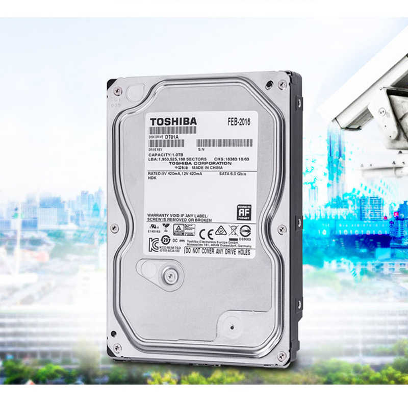 "TOSHIBA 1TB כונן קשיח דיסק 1T 1000GB הפנימי HDD HD 7200 סל""ד 32M SATA3 3.5"" עבור מחשב שולחני מחשב"