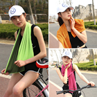 Drop shipping 30*90cm Sport Cooling Towel Sweat Summer Ice Towel Ice Cool Towel High Quality Hypothermia Cold Towel Hot!!!