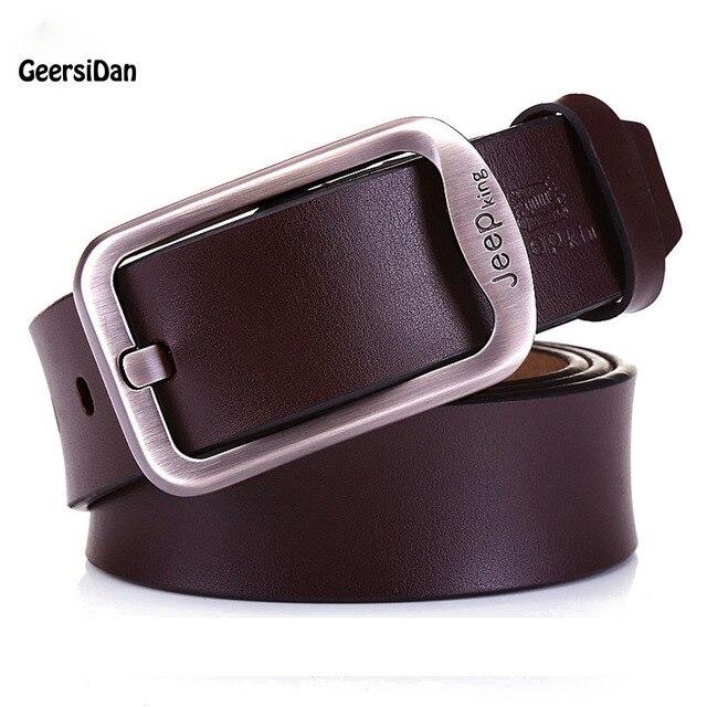 Cinturones de diseño hombres cinturón de alta calidad 100% piel de vaca  cinturones de cuero c645677c2d64