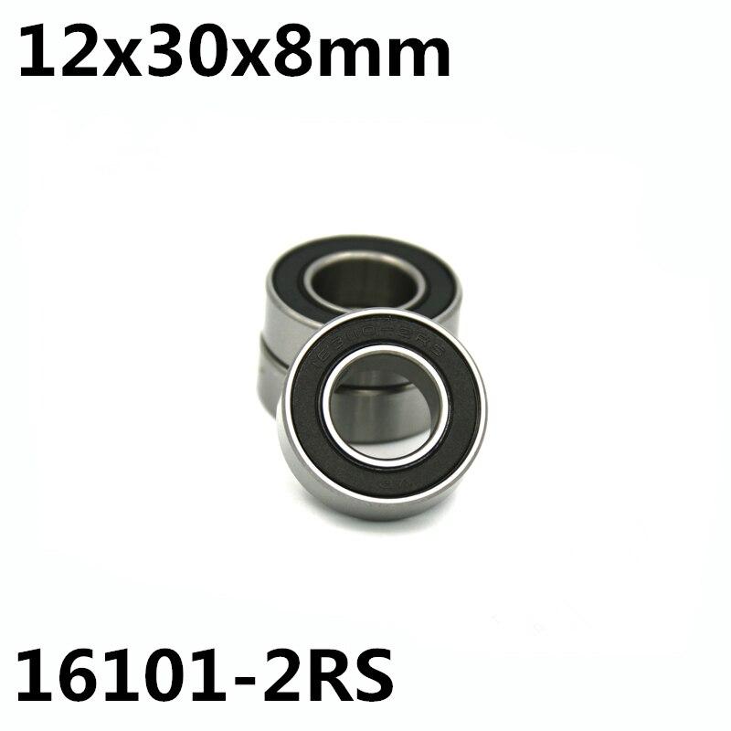 1Pcs 16101-2RS 12x30x8 Mm Motor Bearing Deep Groove Ball Bearings 16101RS