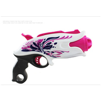 Newly Soft Bullet Manual Burst Toy Guns Pink High Quality Eva Bullets Gun Armas Toys For Children Birthday Gifts For Girls