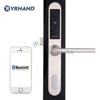 Умный дверной замок Wi-Fi, приложение цифровой дверной замок Bluetooth Smart Password Lock Pin-код электронный дверной замок для алюминиевой стеклянной двер...