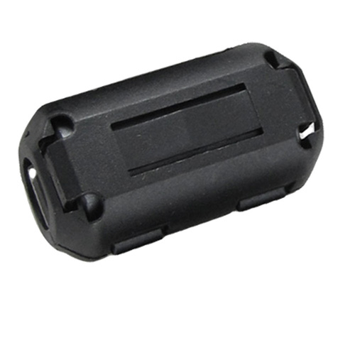 2015 Hot 10Pcs UF90B Clip-on Ferrite Ring Core Black for 9mm Diameter Cable