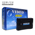 SSRIVER MHL/HDMI to SCART/SCART to HDMI Video Converter for Samsung HTC Smartphone to CRT TV DVD HDMI TO SCART Converter
