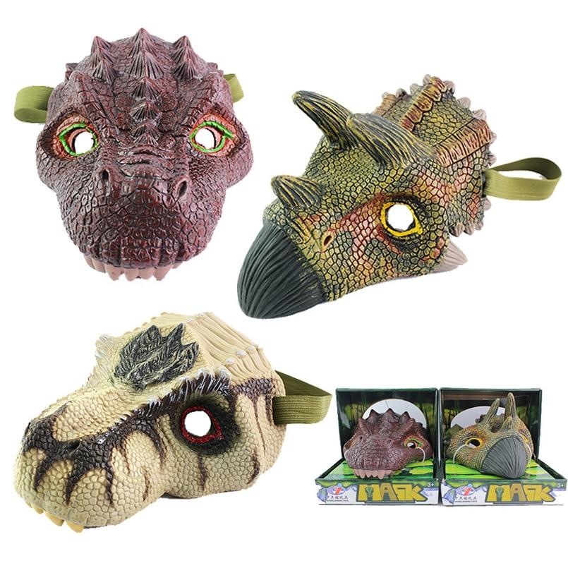 Action Figures Dragon Halloween Toys Mask Tyrannosaurus Puzzle Animals for Children Whole-Maggot