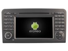 Android 8.0 8-ядерный 4 ГБ автомобильный DVD для Benz ML320/ml 350/w164gl X164 IPS сенсорный экран штатные магнитола GPS