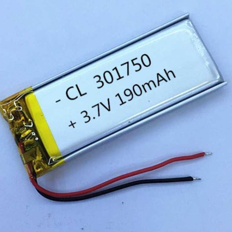 NEUE 190 mAh 031750 3,7 V lithium-polymer-akku 301750 FÜR aufnahme stift business Mp3 Mp4 Mp5 DIY PAD DVD E-buch bluetooth headse