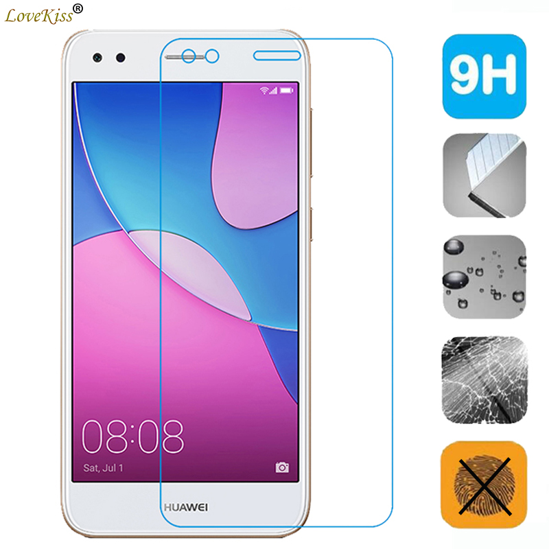 Nova Lite <font><b>2017</b></font> Screen <font><b>Glass</b></font> Film For <font><b>Huawei</b></font> <font><b>Y6</b></font> Pro <font><b>2017</b></font> SLA-L22 Screen Protector P9 Lite Mini 9H <font><b>Tempered</b></font> <font><b>Glass</b></font> Film Cover Case image