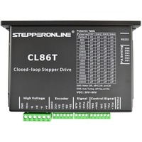 2 phase Nema 34 Closed Loop Stepper Driver 0~8.2A 24~80VDC Stepper Motor Driver CL86T for CNC Engraving/Milling Machine