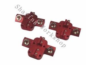 Reprap Delta стержни коссель XL Магнитная карета + эффектор для Chimera/cyclop hotend + 300 мм карбоновая трубка, диагональный толкатель, набор
