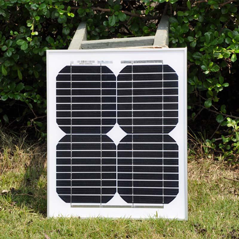 Дешевые Китай Панели солнечные 10 Вт 12V18V фотоэлектрические ячейки доска солнечной энергии Портативный Зарядное устройство панно Solaire мини П...