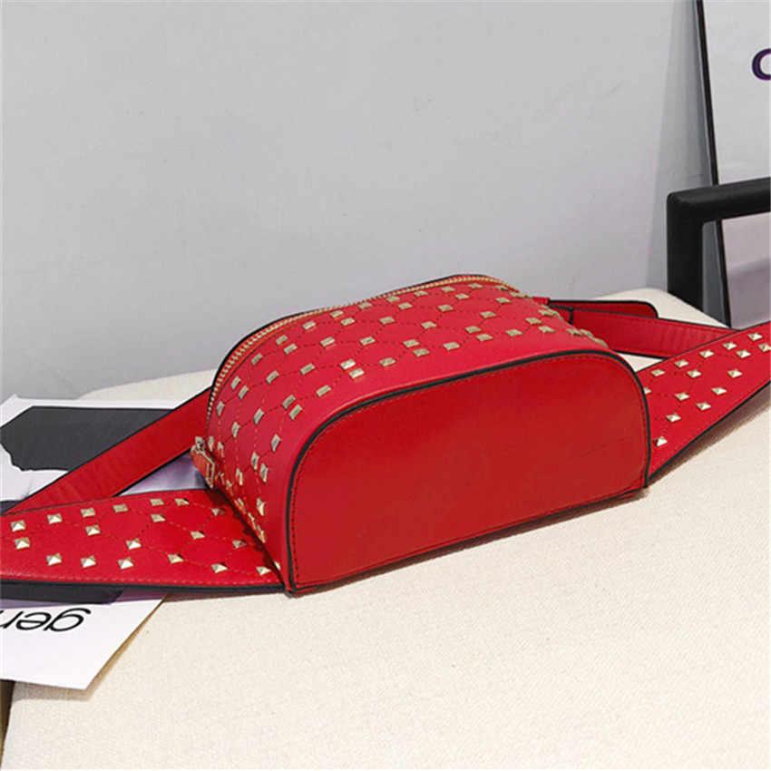 7076a99497a0 ... TOYOOSKY Поясные сумки Для женщин дизайнер заклепки поясная сумка Пояс  Сумка женская мини кармашек сумки Pu ...