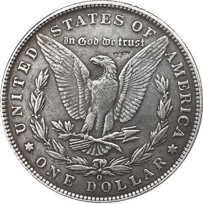 Hobo Nikkel 1895-O VS Morgan Dollar MUNT COPY Type 111