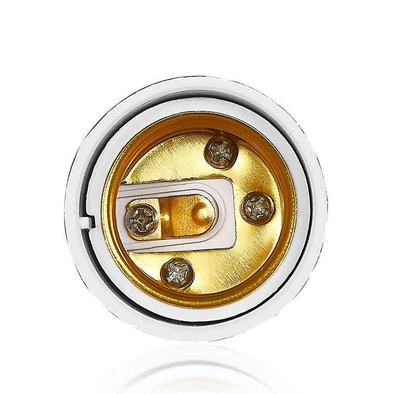 G24 a E27 adaptador G24 G23 GX23 a E26 portalámparas convertidor Base de lámpara enchufe cobre LED Bombilla extender enchufe