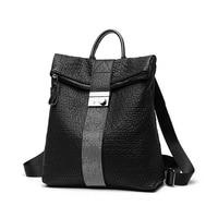 Female backpack mochila feminina casual Multifunction Women Backpack Leather Women's Shoulder Bag Backpack Travel backpack C1000