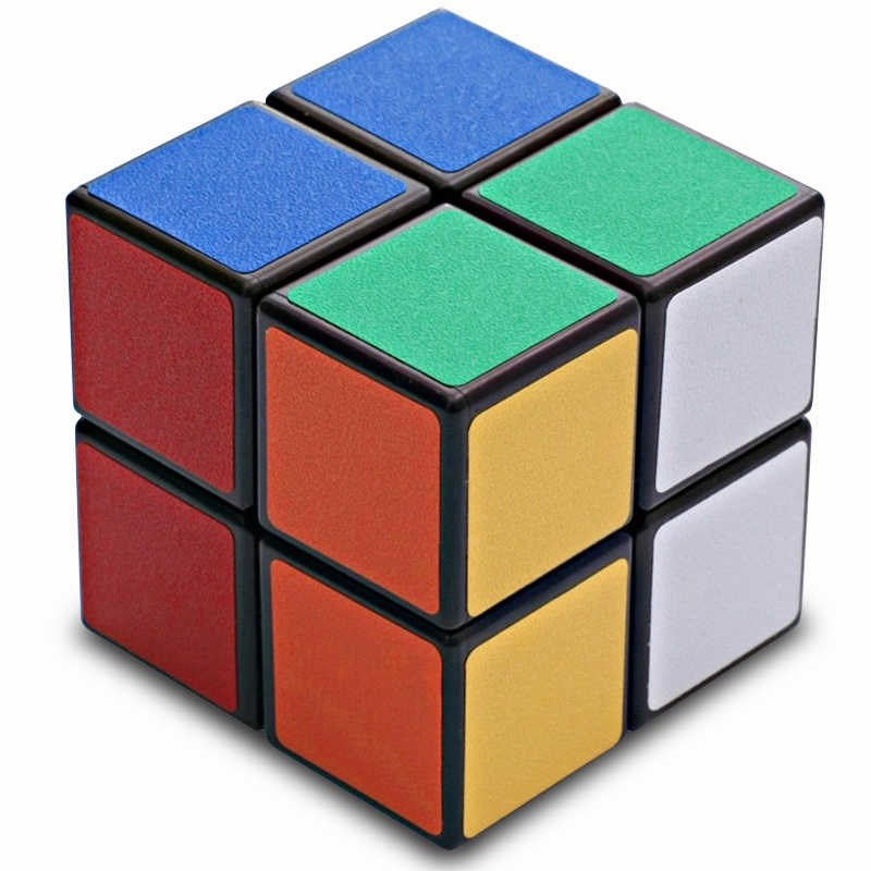 Qiyi Cubes 2X2 Magnetic Cube Cubo Magico 50mm Speed Pocket Sticker Puzzle Rubic Cube Professional Educational Toys For Children