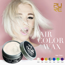 PURC new products good dye trend white color one time hair color 100ml hair care hair styling for party Christmas Carnival day(China)