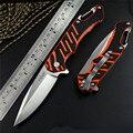 Woodpecker Y-START LK5020 flipper faca dobrável ball bearing arruela 440C lâmina G10 handle outdoor camping caça faca de bolso