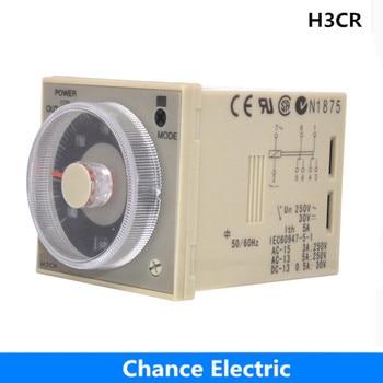 H3CR serii przekaźnik czasowy 8 pinów H3CR-A8 H3CR-A czas opóźnienia przekaźnik AC/DC uniwersalny 24-240 V AC 100-240 V