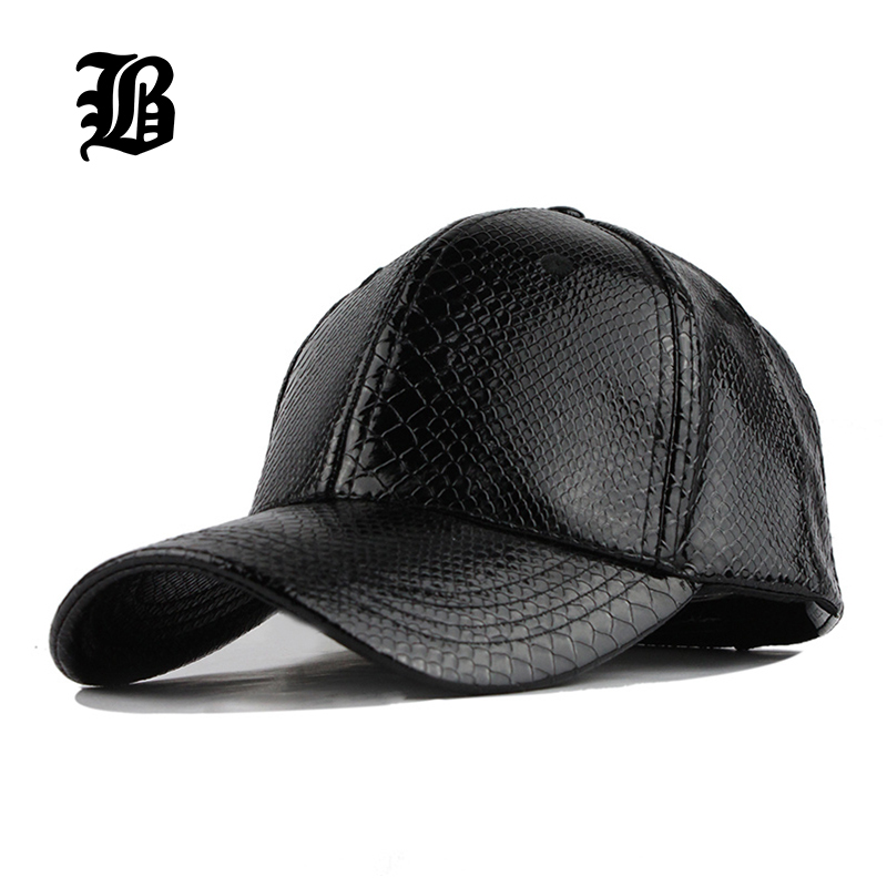 e26ac79ce15baf [FLB] Wholesale High Quality Faux Leather Cap Winter hat Snapback PU Leather  Baseball Cap