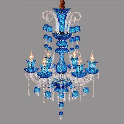 Online Shop Gold Banquet hall art deco Chandelier for dining Room ...