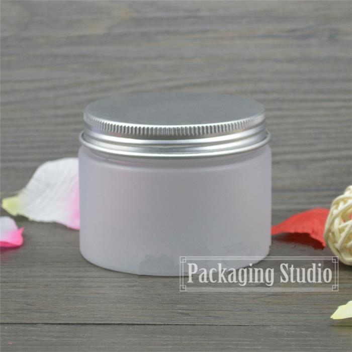 150g Plastic Frost Empty Jar Facial Cream Bottles Pill Spice Food Storage Packing Container Free Shipping