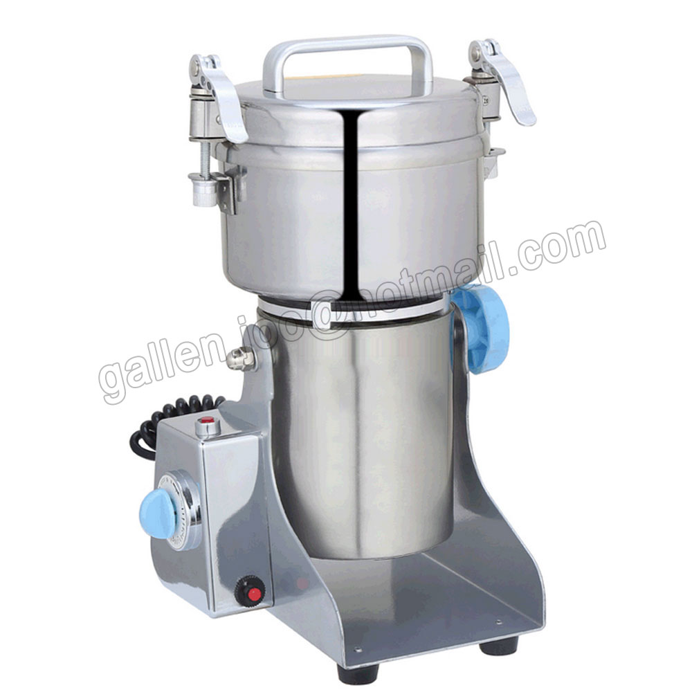 CE CCC Stainless Steel Grain Miller, Small Household Electric Grinding Tool, Superfine Powder Machine, Food Grinder cukyi household electric multi function cooker 220v stainless steel colorful stew cook steam machine 5 in 1