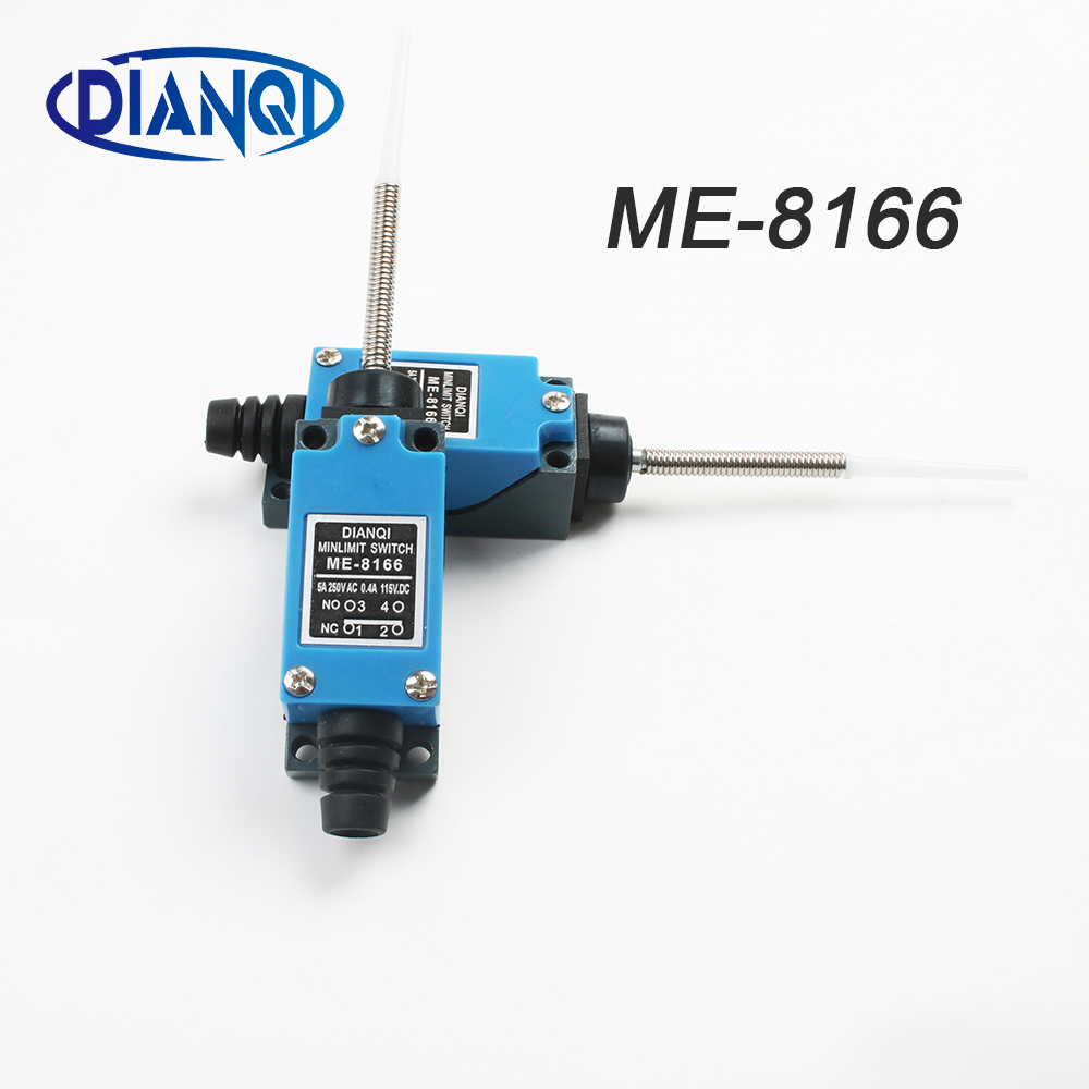 DIANQI ME-8166 Flexible Rod Coil Spring Actuator Momentary Mini Limit Switch MomentaryDIANQI ME-8166 Flexible Rod Coil Spring Actuator Momentary Mini Limit Switch Momentary