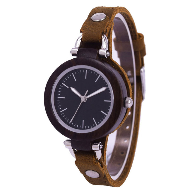 Women's Wooden Watch Ladies Girls Brand Luxury Female Quartz Wrist Watches Montre Femme Clock Relogio Feminino Drop Shipping 1