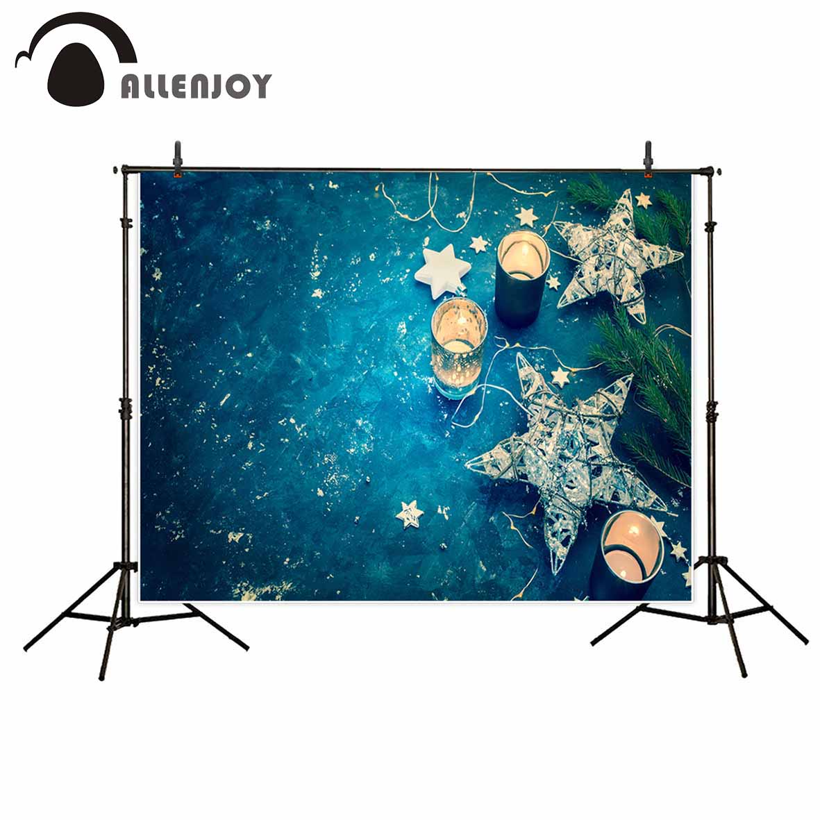 Allenjoy photography backdrop Star Still Life Child Portrait Ocean Candle new background photocall customize photo printed allenjoy photography backdrop library books student child newborn photo studio photocall background original design