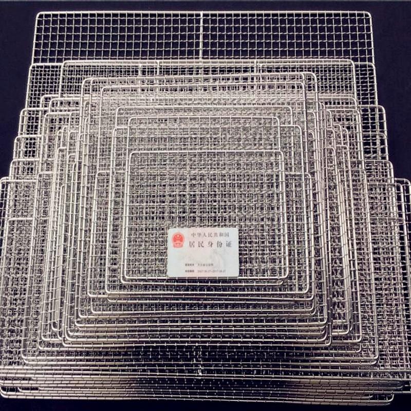 2017 Koreya üslubu 304 paslanmayan poladdan kvadrat manqal mesh - Mətbəx, yemək otağı və barı - Fotoqrafiya 1