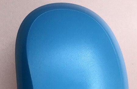 Профессиональная расческа модный простой гребень черного цвета 10 шт./лот цвет черного/розового/синего и фиолетового цвета для волос расческа - Цвет: Синий