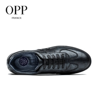 OPP Genuine Leather Men Shoes Casual Shoes For Men Cow Leather moccasins hombre  Fashion Men Loafers for Men Flats 3
