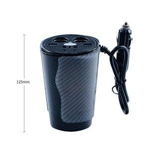 Image 3 - Inversor de corriente Universal de 150 W, 12V a 110 V, 220 V, inversor de coche, enchufe de encendedor de cigarrillos, inversor de 12v y 220v con doble USB