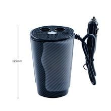 Inversor de corriente de 150W fuente de alimentación portátil 12V a 110V 220V inversor de coche 12v 220v inversor con cargador USB Dual
