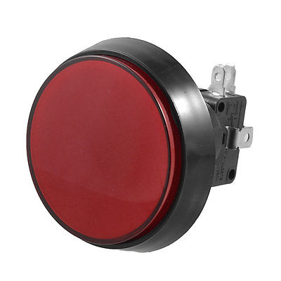 Momentary Arcade Game AC 250V 15A 50mm Dia Circular Push Button Red + Micro Switch 60mm матрас beautyson эко супер шанс s600 90x195
