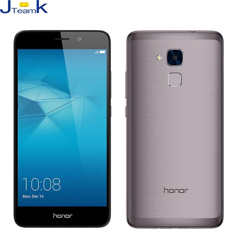 Original Huawei Honor 5C 3+32GB 13MP Dual Rear Camera C4G FDD LTE phone Octa core 5.5 inch 1920*1080pix FingerPrint Metal Body