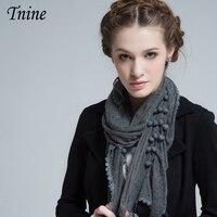 2016 Hot Sale Elegant Scarves For Women Lace Design Solid Scarf Super Soft Wrap Shawl Stole